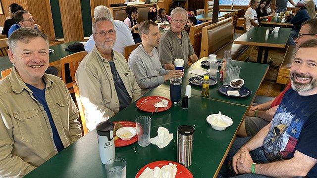 men's retreat 2019 breakfast