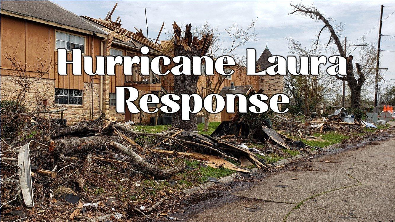 Katrina's Lake Charles Title Slide